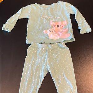 2T Carter's Pajamas